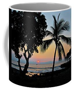 Hawaiian Big Island Sunset  Kailua Kona  Big Island  Hawaii Coffee Mug