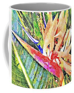 Hawaiian Bird Of Paradise Coffee Mug