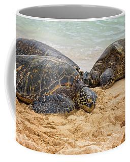 Hawaiian Green Sea Turtles 1 - Oahu Hawaii Coffee Mug