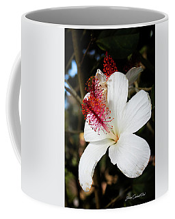 Coffee Mug featuring the photograph Hawaiian Hibiscus  by Joann Copeland-Paul