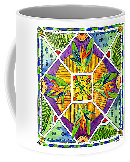 Hawaiian Mandala II - Bird Of Paradise Coffee Mug