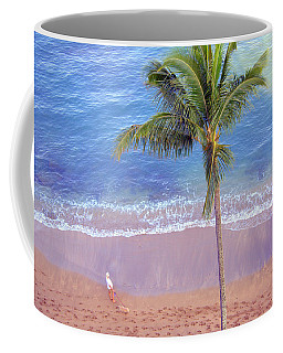 Hawaiian Morning Coffee Mug by Kathy Bassett