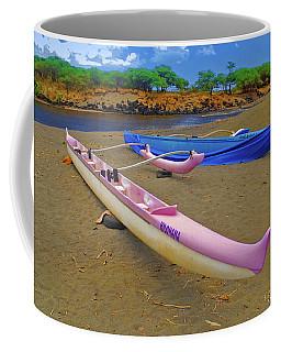 Hawaiian Outigger Canoes Ver 1 Coffee Mug