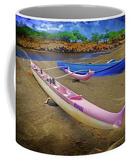 Hawaiian Outigger Canoes Ver 2 Coffee Mug