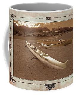 Hawaiian Outigger Canoes Ver 3 Coffee Mug