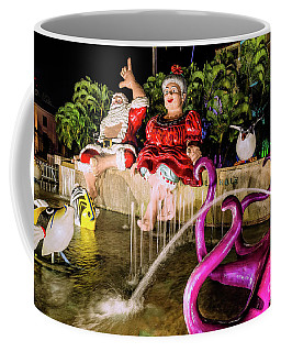 Hawaiian Santa Claus Coffee Mug
