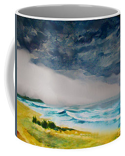Coffee Mug featuring the painting Hawaiian Storm by Andrew Gillette