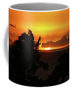 Coffee Mug featuring the photograph Hawaiian Sunset by Anthony Jones