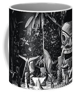 Hawaiian Tiki Carvings Coffee Mug by Sharon Mau