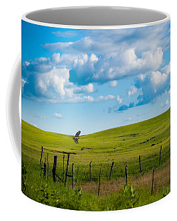 Hawk And Flint Hills Coffee Mug