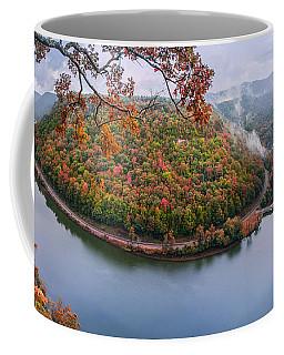 Hawks Nest State Park Autumn Splendor Coffee Mug