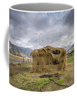 Hay Hut In Andes Coffee Mug