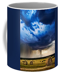 Hay In The Storm Coffee Mug