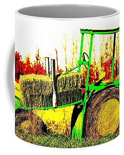 Hay It's A Tractor Coffee Mug