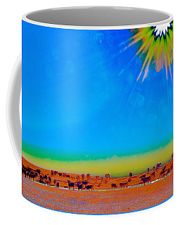 Hay Meadow To Water Coffee Mug