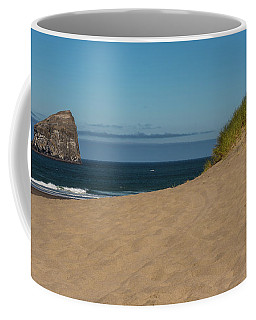 Haystack Rock, Cannon Beach Coffee Mug by Brenda Jacobs
