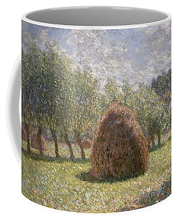 Haystacks At Giverny Coffee Mug
