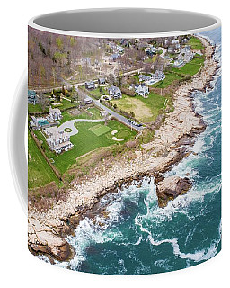 Hazard Rocks, Narragansett  Coffee Mug