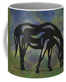 Hazel - Abstract Horse Coffee Mug