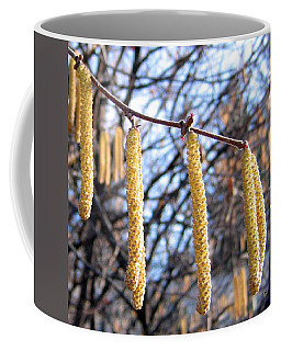 Hazelnut Blossoms Coffee Mug