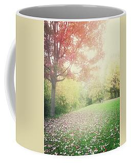 Hazy Autumn Landscape Coffee Mug