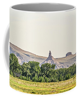 Hazy Chimney Rock Coffee Mug