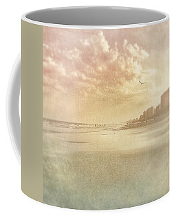 Hazy Day At The Beach Coffee Mug