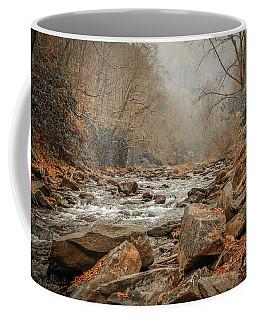 Hazy Mountain Stream #2 Coffee Mug
