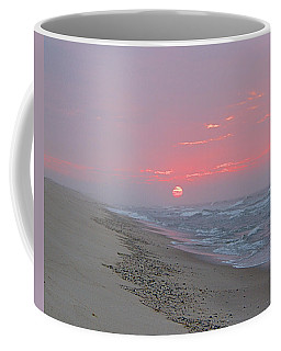 Coffee Mug featuring the photograph Hazy Sunrise by  Newwwman