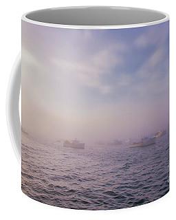 Hazy Sunset In Bar Harbor Maine Coffee Mug