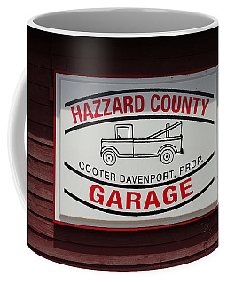 Hazzard County Garage Coffee Mug