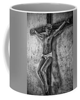 Hdr Crucifix In Black And White Coffee Mug