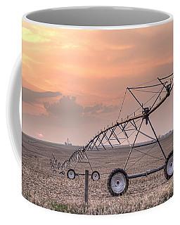 Hdr Sunset With Pivot Coffee Mug
