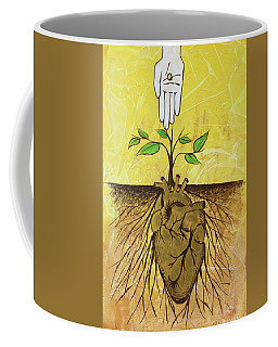 He Cultivates Our Hearts Coffee Mug