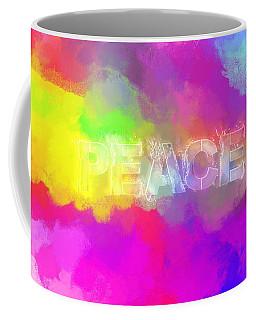 He Gives A Powerful Peace Coffee Mug