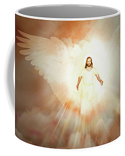 Coffee Mug featuring the painting  He Is Risen by Valerie Anne Kelly