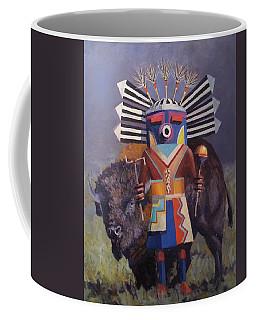 He Runs With The  Buffalo Coffee Mug