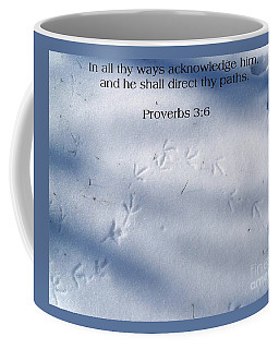 He Shall Direct Your Path Coffee Mug