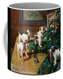 He Who Pays The Piper Calls The Tune Coffee Mug