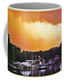 Coffee Mug featuring the photograph Head For Safety by Brian Wallace