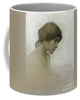 Head Of A Girl  Coffee Mug