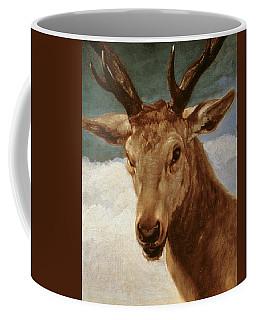 Head Of A Stag Coffee Mug