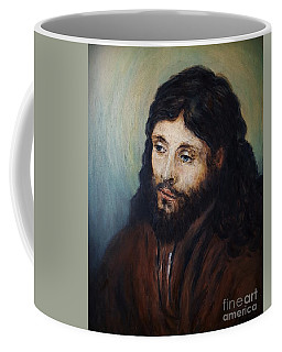 Head Of Christ After Rembrandt Coffee Mug