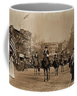 Head Of Washington D.c. Suffrage Parade Coffee Mug