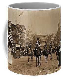 Head Of Washington D.c. Suffrage Parade Coffee Mug