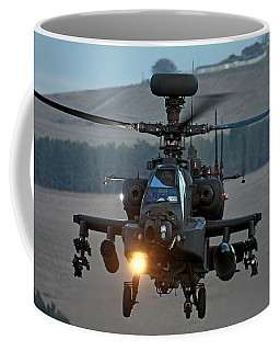 Head On Ah64 Apache Coffee Mug