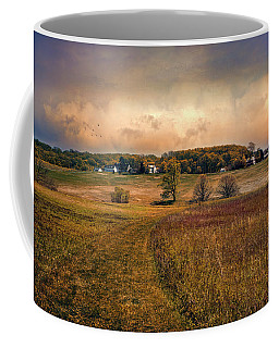 Coffee Mug featuring the photograph Heading Back Home by John Rivera
