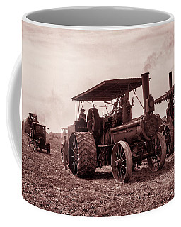 Heading Out Antiqued Coffee Mug