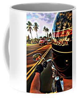 Heading Out On Harley Coffee Mug