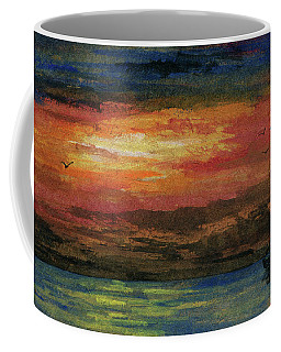 Heading Out To Sea Coffee Mug by R Kyllo